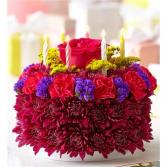 FLOWER FIESTA CAKE BOUQUET