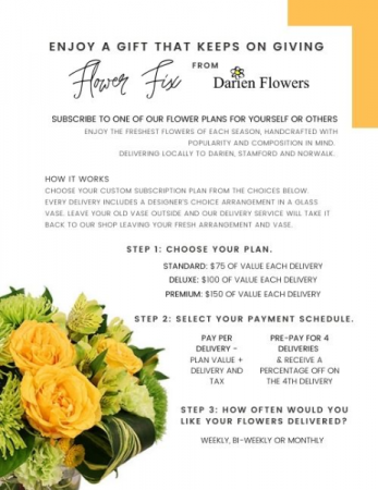 Flower Fix Floral Subscription