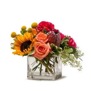 Flower Fun Arrangement in Burnt Hills, NY | THE COUNTRY FLORIST