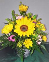 Flower Garden Tin
