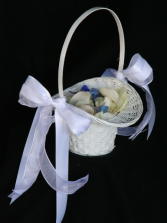 Flower Girl Basket Wedding Flowers