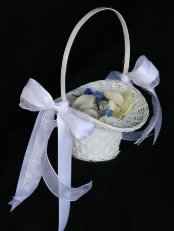 Flower Girl Basket Wedding Flowers