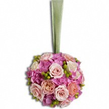 Precious Pomander Wedding Flowers