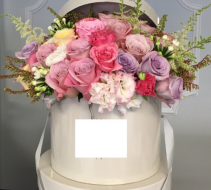 Flower Hat Box
