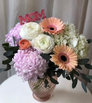 Flower Hug for Mom Vase Arrangement  in Woodbridge, ON | PRIMAVERA FLOWERS & MORE
