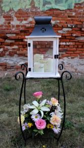 Flower Lantern Stand Arrangement multiple