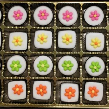 Flower Mints chocolates
