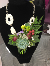 Flower Necklace  Flower Jewellery