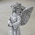 "Flower Pot Angel 18"" tall"