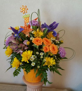 Flower Pot Posey Fresh in Paris, KY | Chasing Lilies Floral