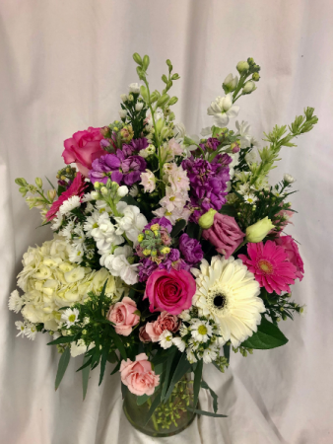 Flower Power Flower Arrangement
