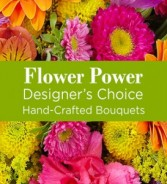 Flower Power (Pastel) Hand-tie Bouquet
