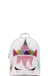 Flower Power Unicorn Backpack Miss Mississippi Pageant
