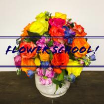 Flower School Thursday, July 19th, 6-8pm