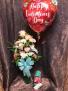 Flower & Snack Combo Flowers, snacks, balloon