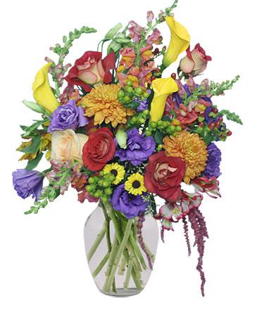 FLOWER STILL LIFE Arrangement