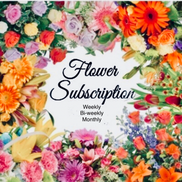 Weekly Flower subscription 3 month weekly