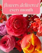 Flower Subscription Flower Arrangement