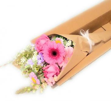 Flower Subscription Wrap