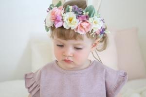 Flowergirl Crown  in Osoyoos, BC | Osoyoos Flowers