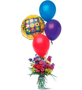Flowers and Balloon Bouquet in Coral Springs, FL | DARBY'S FLORIST