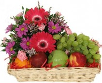 Flowers and Fruit You are viewing a original floral gift, found nowhere else only by elegant florist