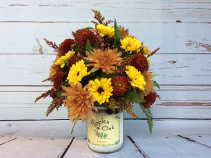 Flowers & Candles ( Fall )  in Culpeper, VA | RANDY'S FLOWERS BY ENDLESS CREATIONS