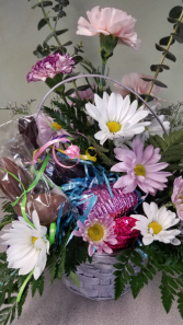 Flowers & Easter Chocolate
