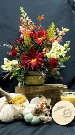 Flowers & Flames Fresh Custom Floral