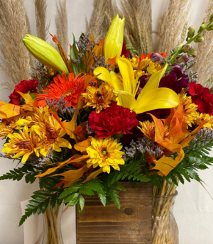 Flowers for a Cause Fresh Floral Arrangement in Oakland, MD | GREEN ACRES FLOWER BASKET