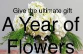 Flowers for a Year Subscription Service