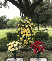 FLOWERS FOR THE CEMETERY BY TOWNE FLOWERS