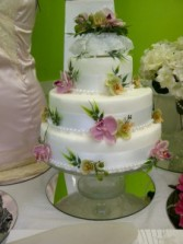 Flowers for your cake Wedding ideas