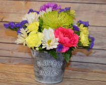 Flowers & Garden Tin