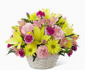 Flowers In Bloom Basket      FHF-21