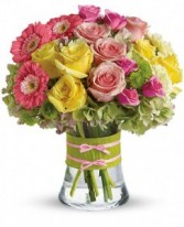 Flowers in fashion!  Bouquet
