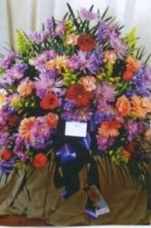 Flowers In Heaven Basket