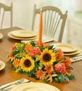 Flowers of Fall Centerpiece