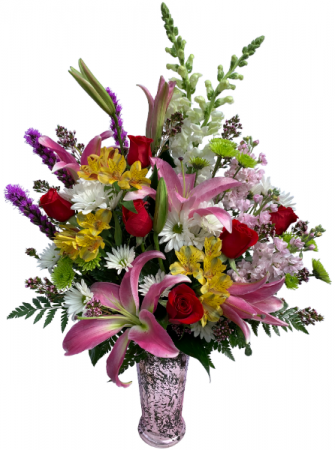 Flowers on Parade Mother's Day Vase Arrangement