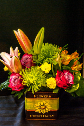 Flowers, please! Mixed floral arrangement