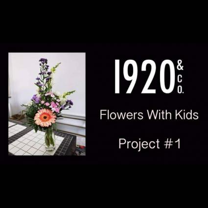 Flowers With Kids A Hands On Home Delivery