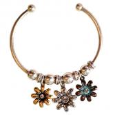 Flowers womens bracelet