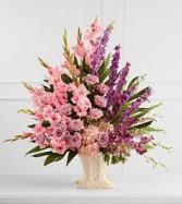 Flowing Garden Funeral Flowers