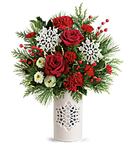 Flurry of Elegance Teleflora - Two Gifts In One in Springfield, IL | FLOWERS BY MARY LOU
