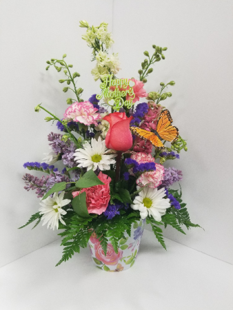 Flutter bouquet Fresh mixed arrangement