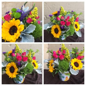 Flutter By Fresh cut vased arrangement in Auburn, AL | AUBURN FLOWERS & GIFTS
