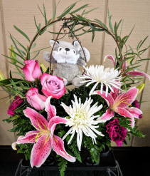 Fly Me to the Moon Tray Arrangement