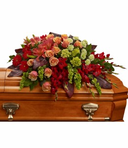 Fond Farewell Casket Spray H2713A