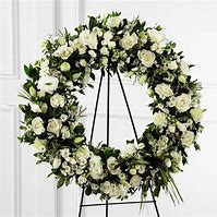 Fond Memories Funeral Wreath
