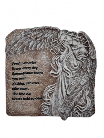 Sympathy Plaque - Fond Memories Linger Every Day
